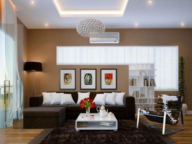 Trần vách thạch cao là quan trọng nhất khi thiết kế nội thất phòng khách