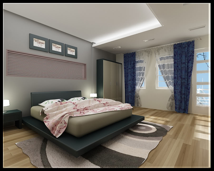Trần nhà thạch cao phòng ngủ P6