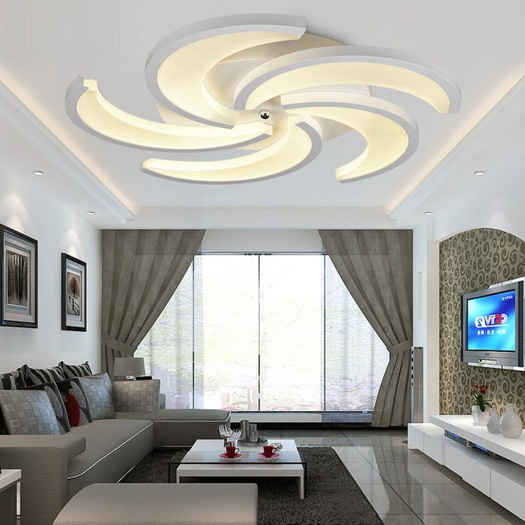 trần thạch cao phòng khách nhà ống 9
