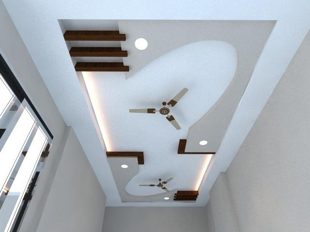trần thạch cao phòng khách nhà ống 1